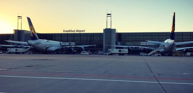 Flughafen Frankfurt Abflüge Lufthansa