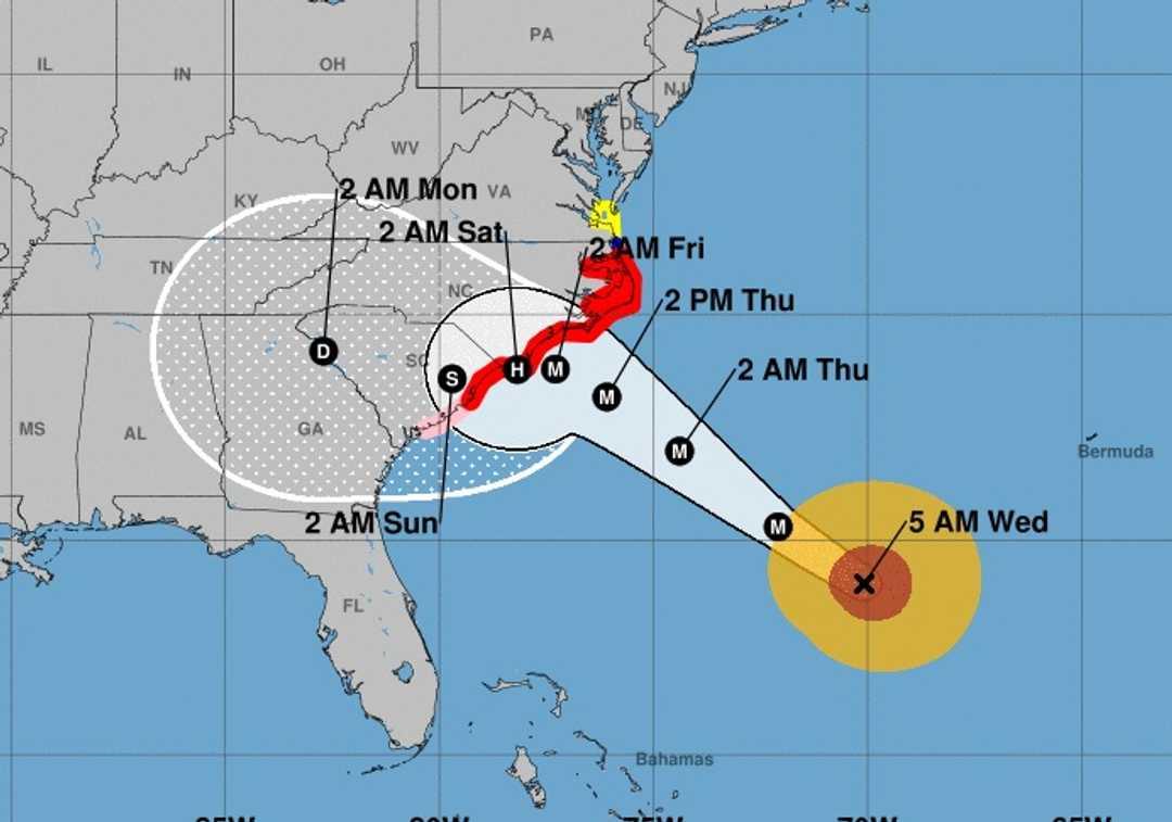 hurrikan usa aktuell 2020