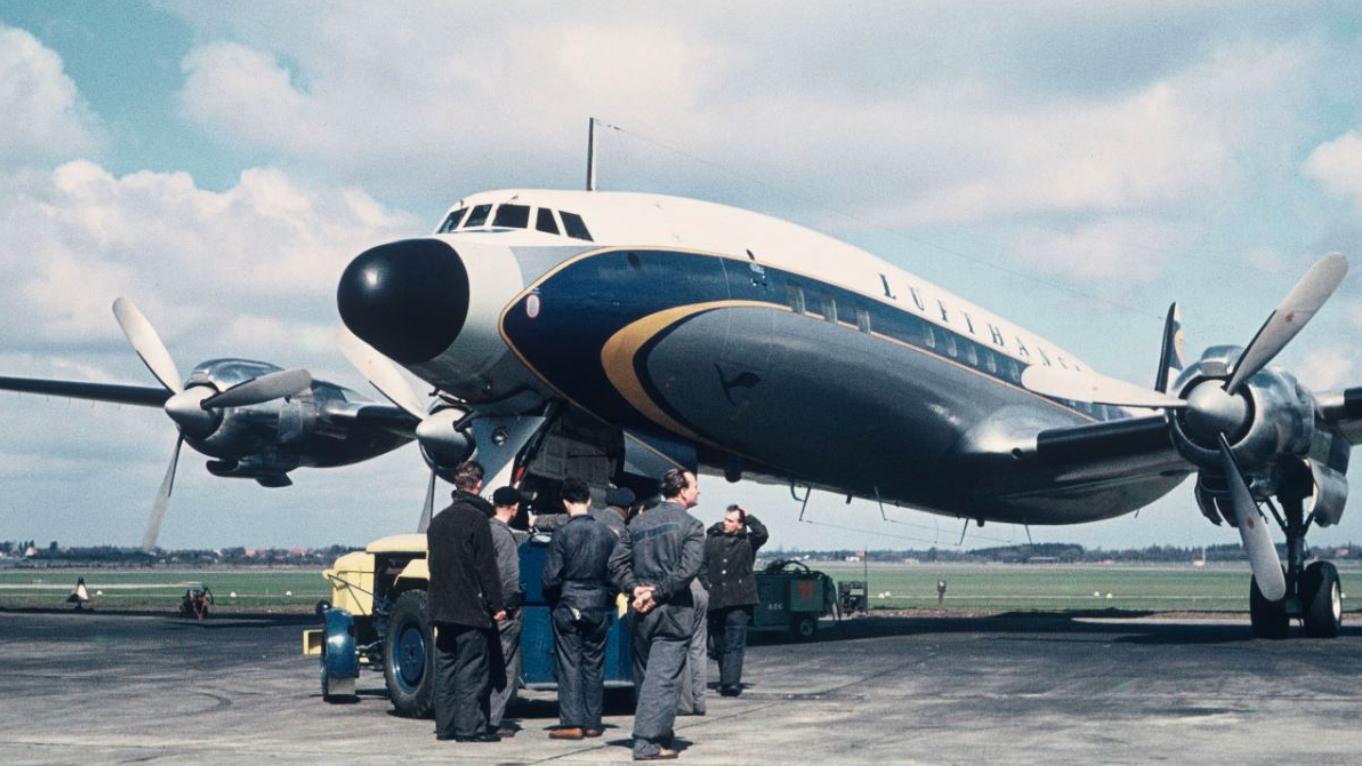 Lufthansa Super Star Fertigstellung