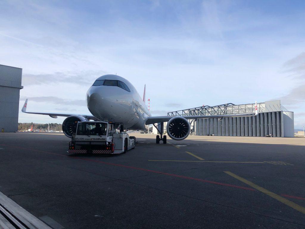 Neuer Flieger, Einheitskabine: So sieht es im neuen Airbus A320 von Swiss aus